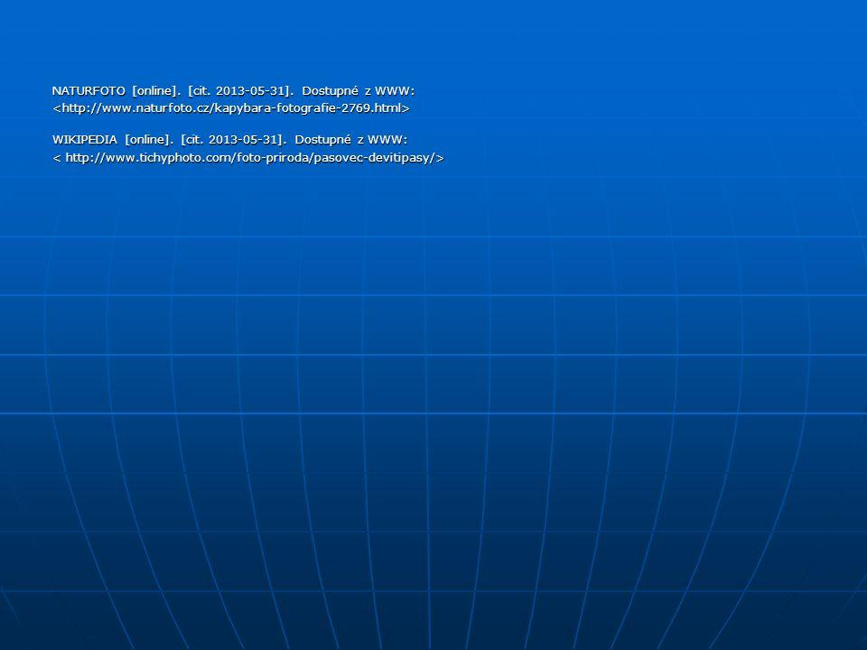 NATURFOTO [online]. [cit. 2013-05-31]. Dostupné z WWW: